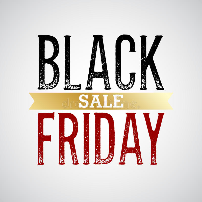 Fondo di vendite di Black Friday royalty illustrazione gratis