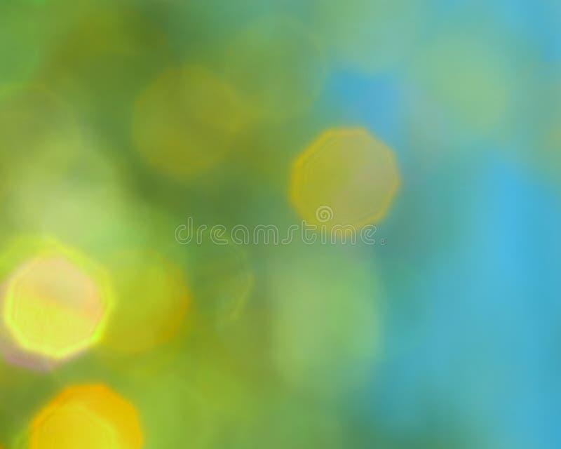 Fondo di verde blu - foto di riserva immagini stock libere da diritti