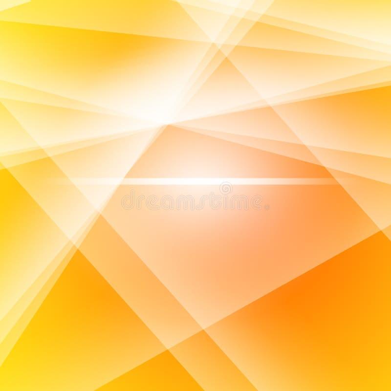 Fondo di vetro rotto dell'estratto di effetto con effetto di tramonto royalty illustrazione gratis