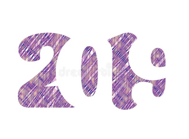 Fondo di vettore del buon anno 2019 illustrazione di stock