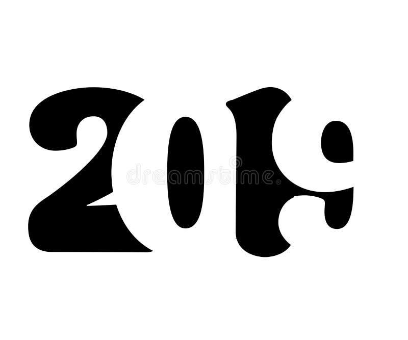 Fondo di vettore del buon anno 2019 royalty illustrazione gratis