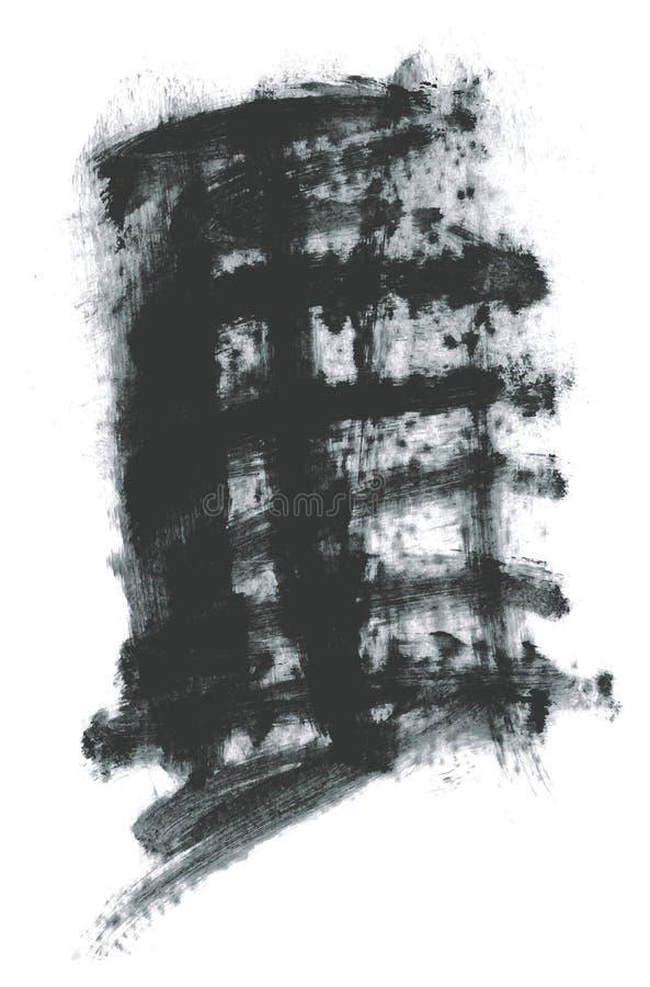 Fondo di vettore dell'estratto del dettaglio del fondo realistico della pittura della spugna l'alto ha messo 07 per migliore uso  royalty illustrazione gratis