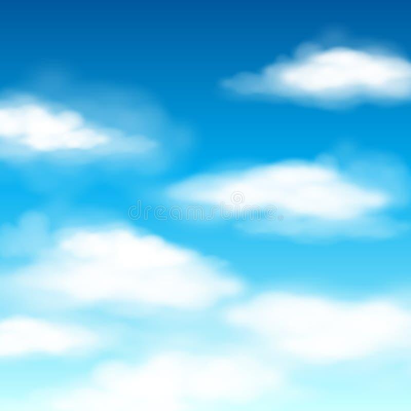 Download Fondo Di Vettore Della Nuvola Illustrazione Vettoriale - Illustrazione di aperto, nuvoloso: 55360097