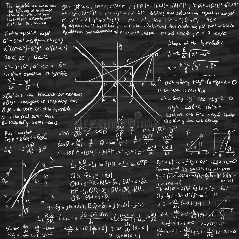 Fondo Di Vettore Di Per La Matematica Illustrazione ...