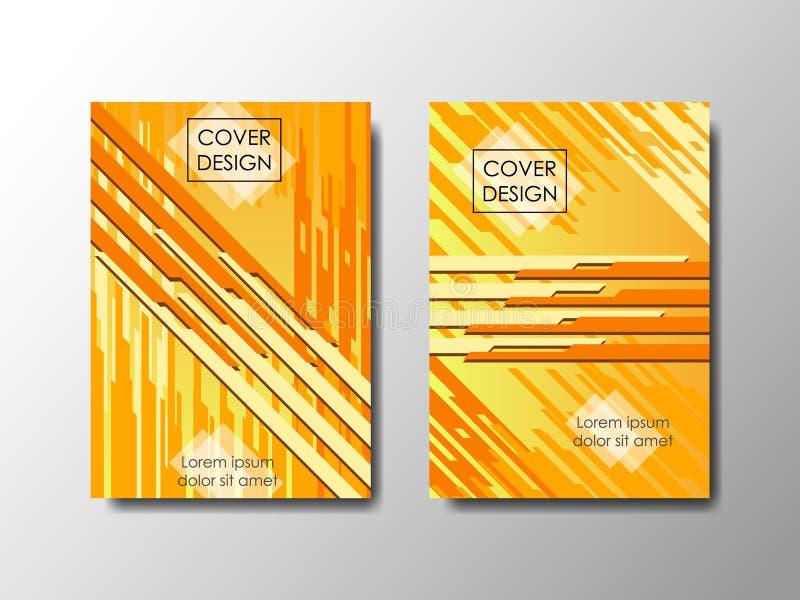 Fondo di vettore di progettazione della copertura, documento editabile royalty illustrazione gratis
