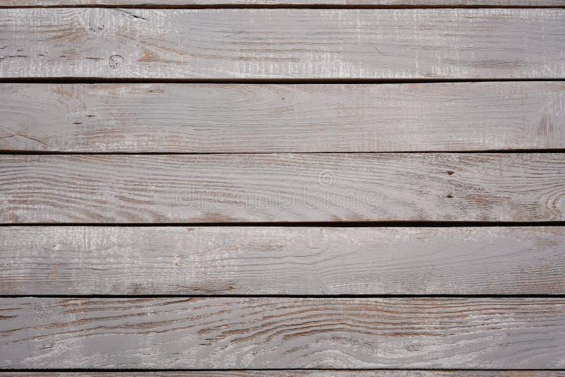 Fondo di vista superiore di struttura approssimativa di legno delle plance fotografia stock
