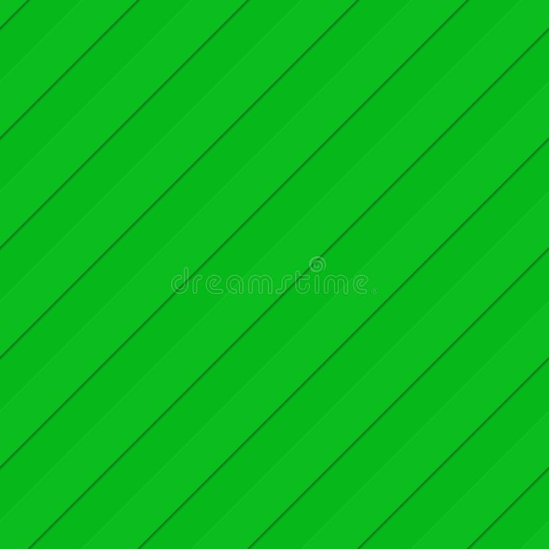 Fondo diagonal inconsútil verde del modelo de la raya libre illustration