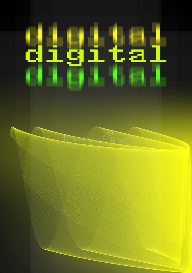 Fondo digital abstracto