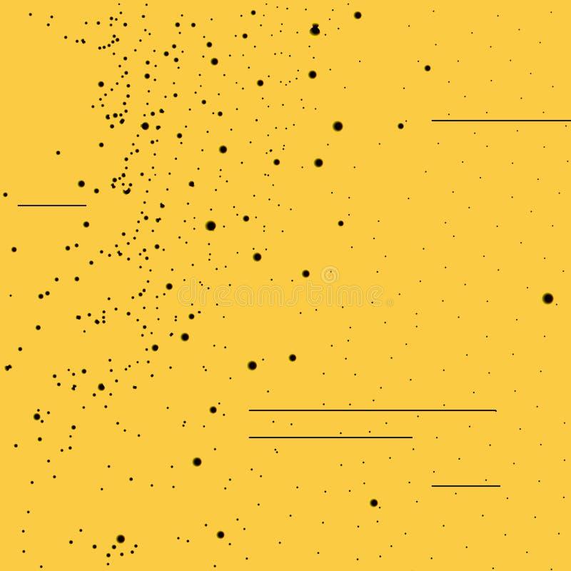 Fondo digital abstracto stock de ilustración