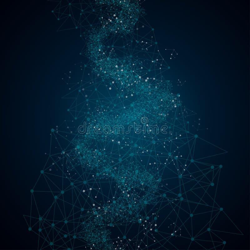 Fondo digital abstracto con textura de la placa de circuito de la tecnología Placa madre electrónica Concepto de la comunicación  foto de archivo libre de regalías