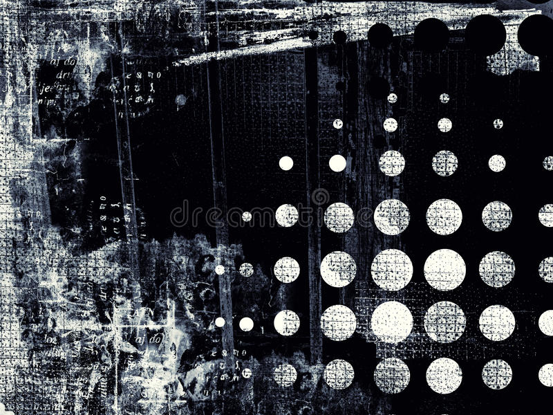 Fondo digital abstracto texturizado Grunge ilustración del vector