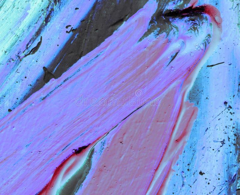 Fondo dipinto a mano astratto creativo, carta da parati, struttura Backgrounde di astrattismo immagini stock