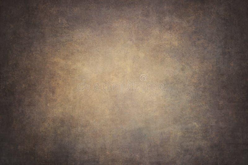 Fondo dipinto a mano del cotone arancio di Brown immagine stock libera da diritti
