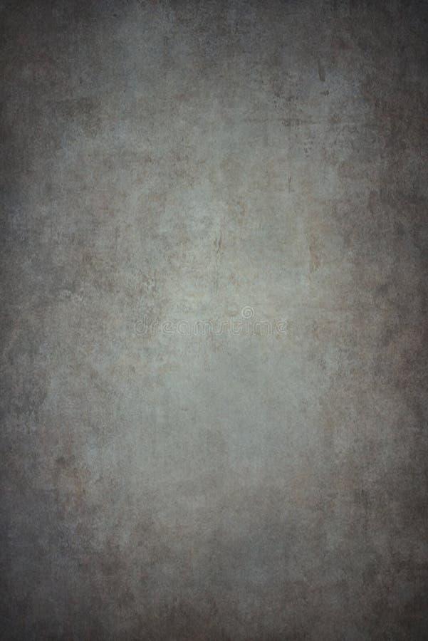 Fondo dipinto a mano grigio immagine stock