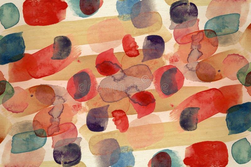 Fondo diseñado del arte abstracto libre illustration