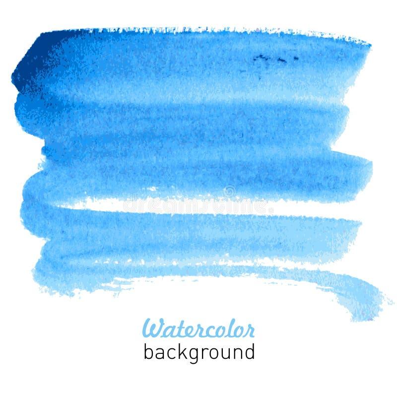 Fondo disegnato a mano dell'acquerello per la vostra progettazione. illustrazione di stock