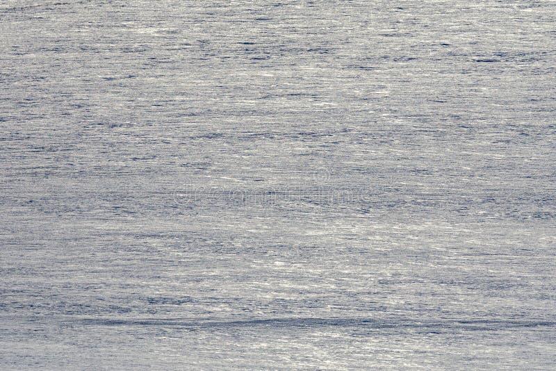 Fondo distante del campo de nieve con textura estacional llana fotografía de archivo