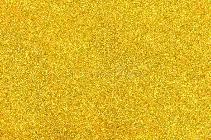 Fondo dorato con scintillio immagini stock libere da diritti