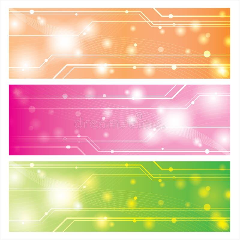 Fondo dulce de la tecnología  ilustración del vector