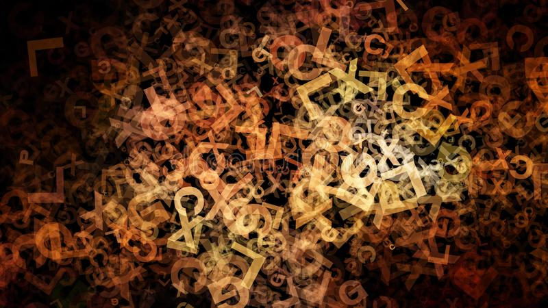 Fondo elegante del diseño del arte gráfico del ejemplo de Art Background Beautiful del fractal del diseño del organismo libre illustration