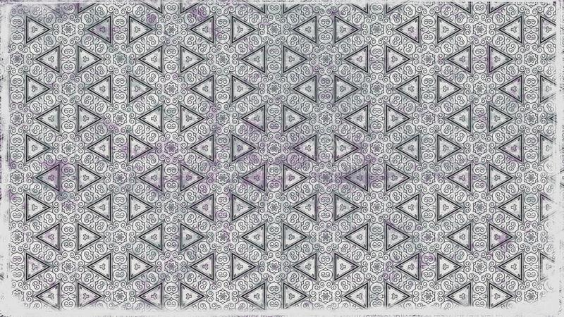 Fondo elegante del diseño del arte gráfico del ejemplo de Grey Decorative Background Pattern Beautiful ilustración del vector