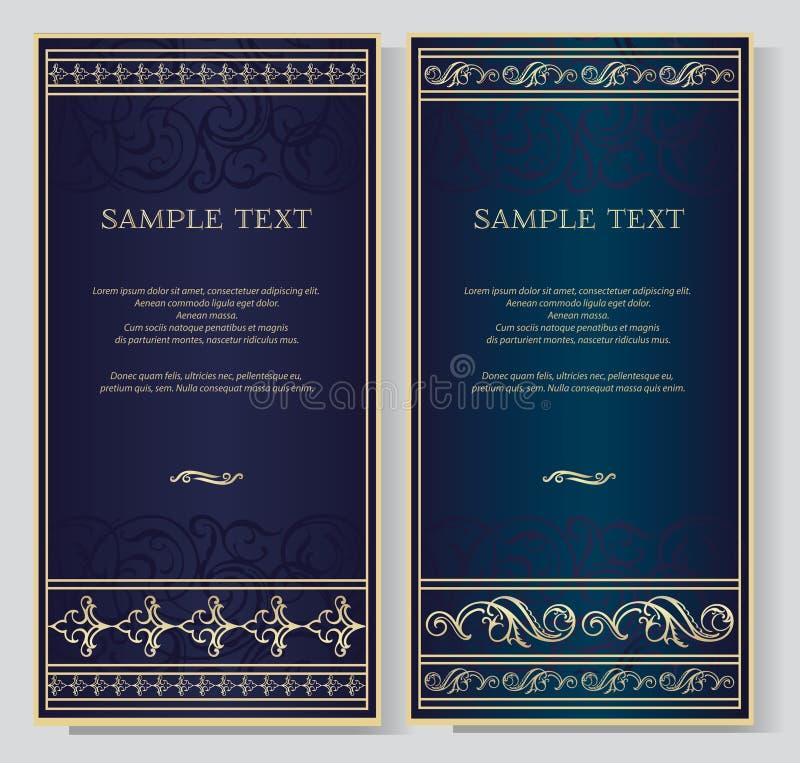 Fondo elegante del vintage para el texto libre illustration