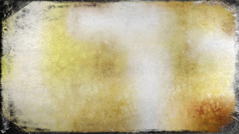 Fondo elegante hermoso del diseño del arte gráfico del ejemplo de la imagen de la naranja y de Grey Dirty Grunge Texture Backgrou ilustración del vector