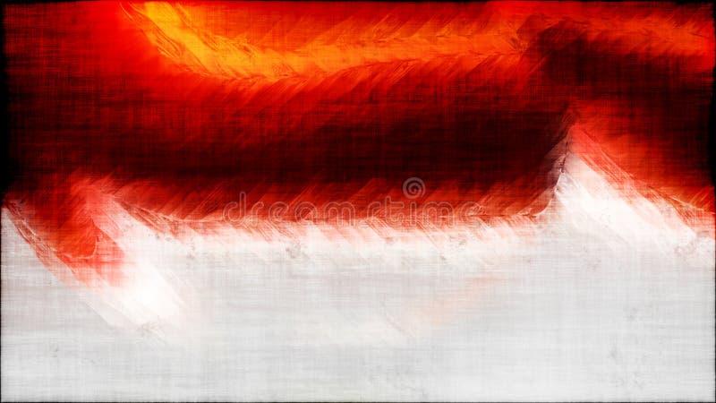 Fondo elegante hermoso del diseño del arte gráfico del ejemplo del Grunge del extracto del fondo sucio blanco y negro rojo de la  libre illustration