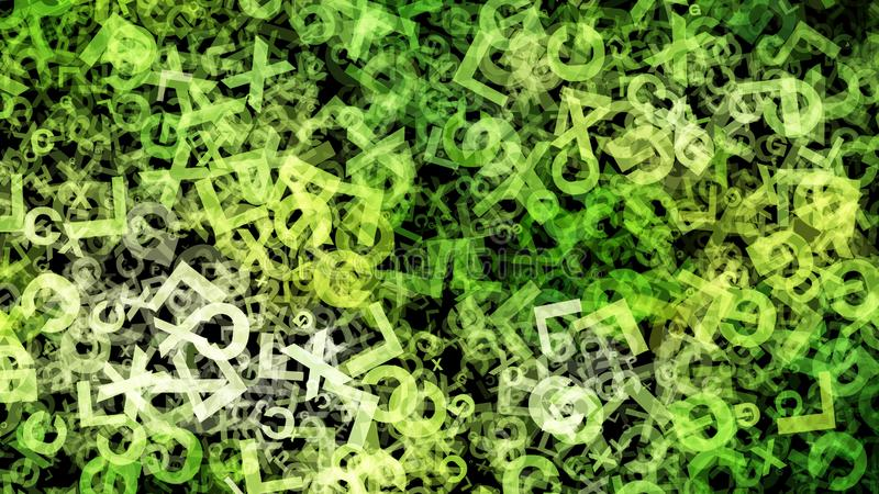 Fondo elegante hermoso del diseño del arte gráfico del ejemplo del fondo del organismo de la hierba verde ilustración del vector