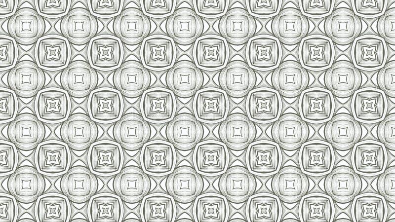 Fondo elegante hermoso ligero del diseño del arte gráfico del ejemplo de Gray Geometric Ornament Wallpaper Pattern libre illustration