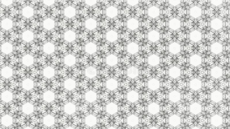 Fondo elegante ligero del diseño del arte gráfico del ejemplo de Gray Decorative Background Pattern Beautiful ilustración del vector