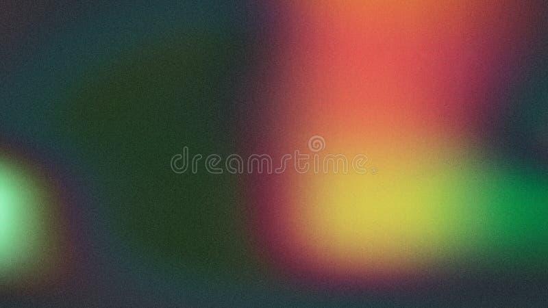 Fondo elegante verde di progettazione di arte grafica dell'illustrazione di Colorfulness Aurora Beautiful royalty illustrazione gratis