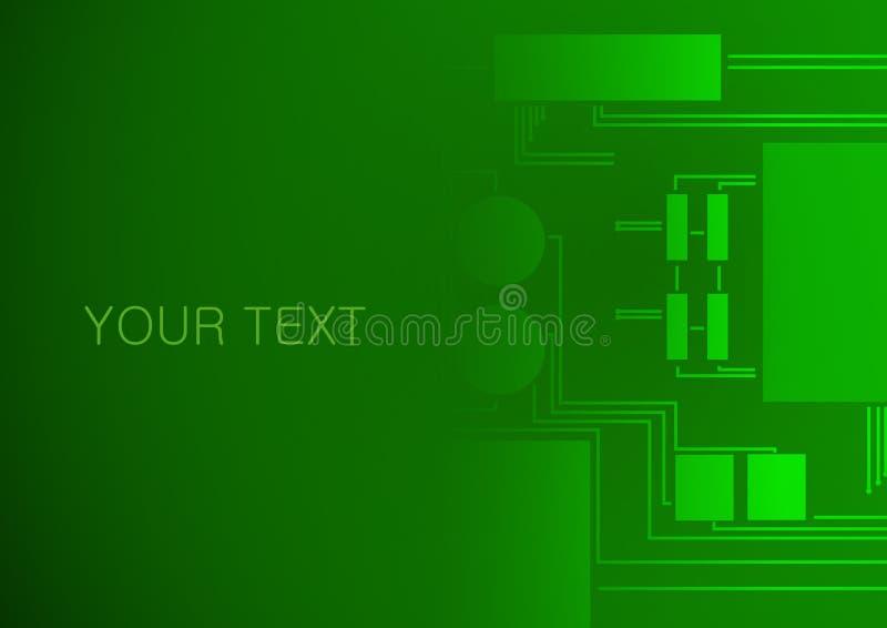 Download Fondo Elettronico Del Circuito Illustrazione Vettoriale - Illustrazione di stampato, bordo: 56880571