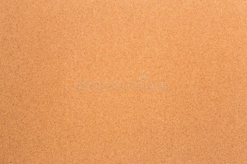 Fondo en blanco de la textura del corcho foto de archivo libre de regalías