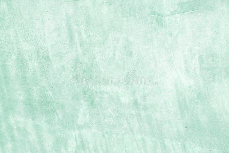 Fondo en blanco de la textura de la pared del cemento del verde del grunge, desi interior imagen de archivo