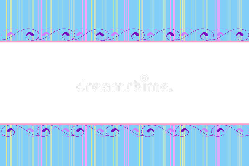 Fondo en colores pastel stock de ilustración
