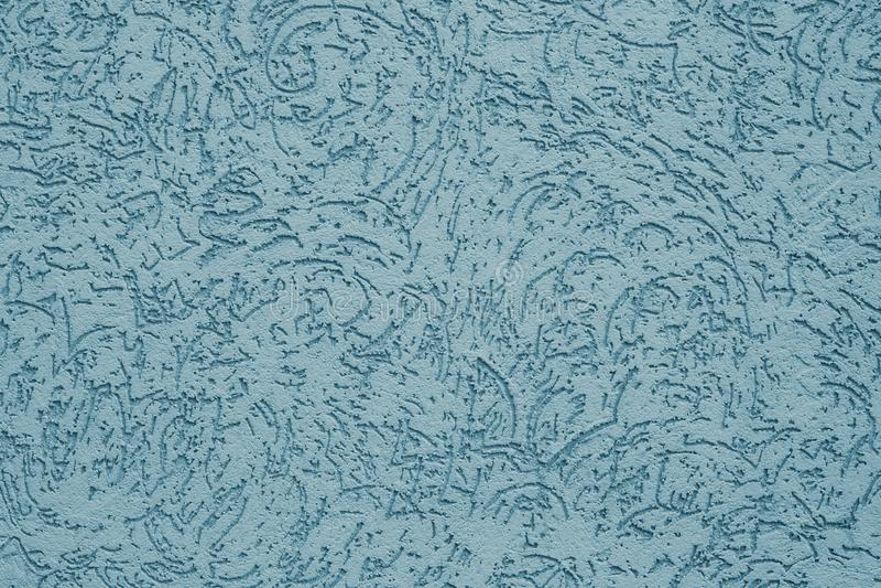 Fondo en colores pastel acanalado del extracto Textura grabada en relieve azul Fondo texturizado gris de la pared Modelo gris del fotos de archivo libres de regalías