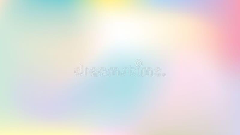 Fondo en colores pastel minimalista stock de ilustración