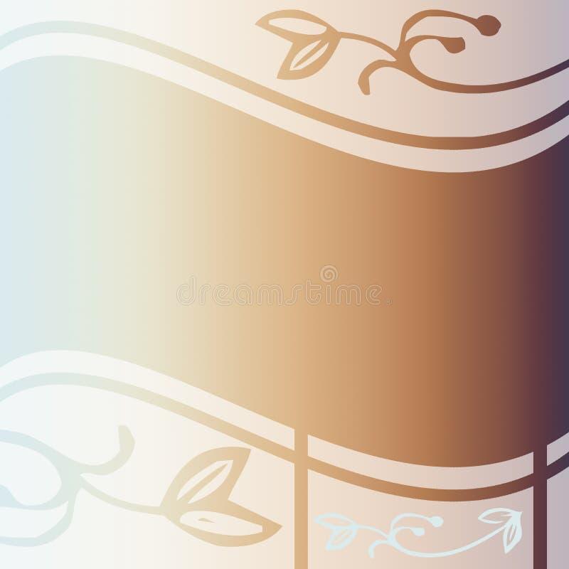 Fondo en colores pastel suave elegante ilustración del vector