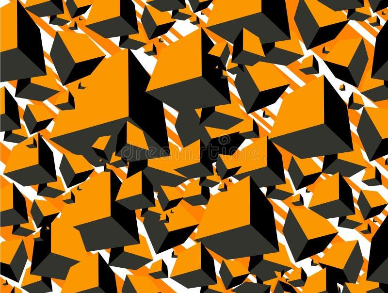 fondo en extracto   ilustración del vector