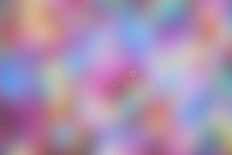 Fondo en la falta de definición, multicolora para el papel pintado, puntos rosados ilustración del vector