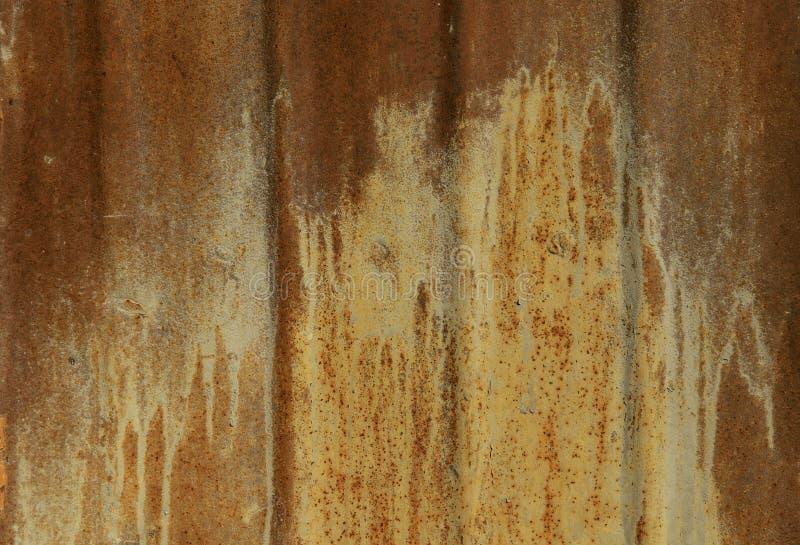 Fondo enmascarado extracto La textura de la vieja superficie de metal oxidada ilustración del vector