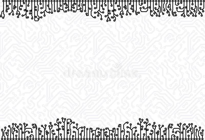 Fondo eps8 de la tarjeta de circuitos libre illustration
