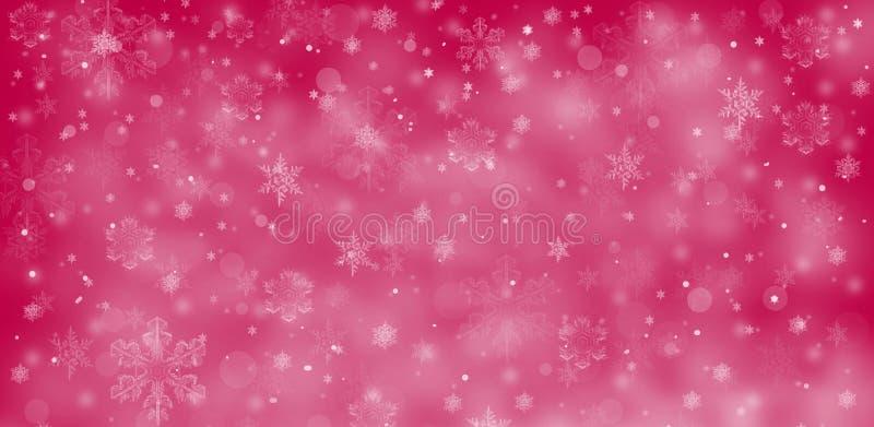 Fondo estacional de la Navidad stock de ilustración
