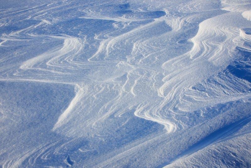 Fondo estacional de la textura del hielo del invierno blanco de la nieve como el fondo simple mínimo de la tierra del piso de la  fotografía de archivo