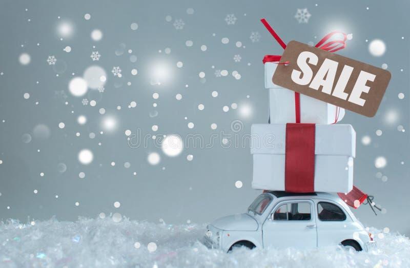 Fondo estacional de las ventas imagen de archivo