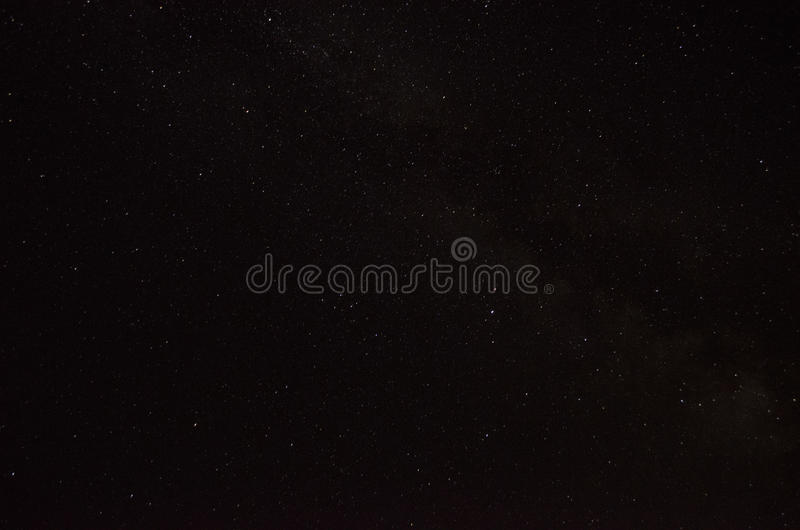 Fondo estrellado del cielo imágenes de archivo libres de regalías