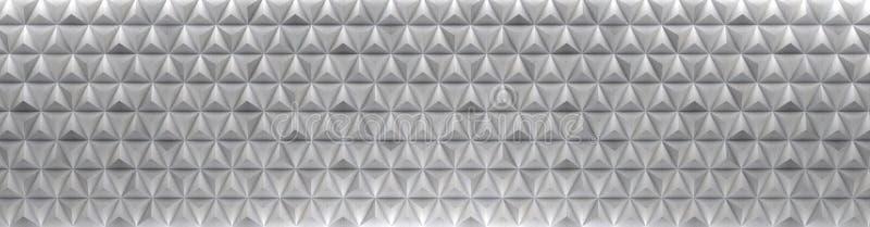 Fondo extra di alluminio dell'alto dettaglio ampio (testa del sito Web) royalty illustrazione gratis