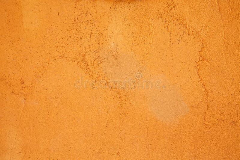 Fondo, extracto o textura anaranjado de la pared. fotografía de archivo libre de regalías