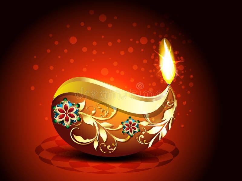 Fondo felice astratto di Diwali royalty illustrazione gratis